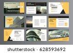 original presentation templates ... | Shutterstock .eps vector #628593692