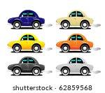 car set   Shutterstock .eps vector #62859568