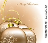 Christmas Background. Vector....