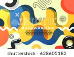 bright and high contrast... | Shutterstock .eps vector #628605182