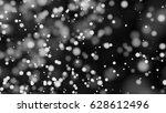 beautiful monochrome bokeh... | Shutterstock . vector #628612496
