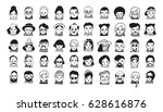 Big Set Of People Avatars For...