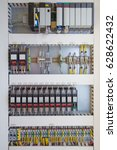 programmable logic controller... | Shutterstock . vector #628622432