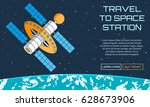flat vector web background on... | Shutterstock .eps vector #628673906