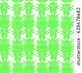 green  herbal seamless pattern... | Shutterstock .eps vector #628678682