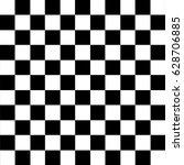 Modern Black Checkered Seamles...