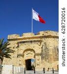 Small photo of Couvre Porte Gate,Birgu ,Malta.