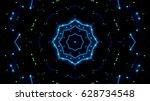 futuristic lights | Shutterstock . vector #628734548