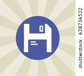 floppy disk icon. sign design....