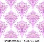vector illustration seamless... | Shutterstock .eps vector #628783136