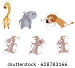 vector illustration of a six...   Shutterstock .eps vector #628783166