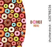 Colorful Glazed Donuts Icons...