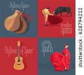 set of vector illustrations...   Shutterstock .eps vector #628794212