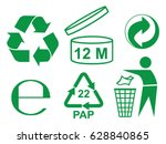 Recycle And Some Packaging Sign