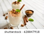 Creamy Rice Pudding Topped Wit...