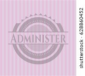 administer retro style pink... | Shutterstock .eps vector #628860452