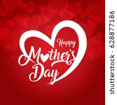 mother's day | Shutterstock .eps vector #628877186