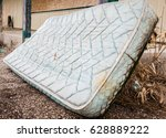 horizontal image of an old worn ... | Shutterstock . vector #628889222