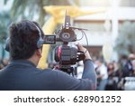 photographer video editing | Shutterstock . vector #628901252