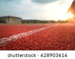 nobody running track for... | Shutterstock . vector #628903616