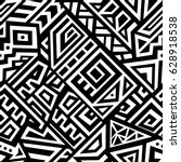 seamless vector texture in... | Shutterstock .eps vector #628918538