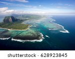 incredible view of the famous... | Shutterstock . vector #628923845