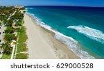 Coastline Of Palm Beach  Aeria...