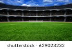 the soccer stadium with the... | Shutterstock . vector #629023232