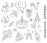 "vector sketch clipart set ""... 