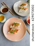 popular homemade steamed... | Shutterstock . vector #629073002