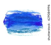 abstract watercolor brush... | Shutterstock .eps vector #629084996