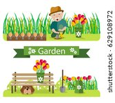 vector illustration of... | Shutterstock .eps vector #629108972