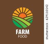 logo farm food | Shutterstock .eps vector #629110142