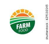 logo farm food   Shutterstock .eps vector #629110145