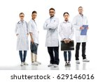 team of young professional... | Shutterstock . vector #629146016