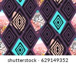 hand drawn vector abstract... | Shutterstock .eps vector #629149352