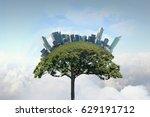 green eco life | Shutterstock . vector #629191712