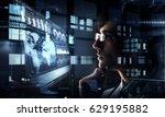 innovative technologies in... | Shutterstock . vector #629195882