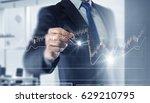 new technologies for business . ... | Shutterstock . vector #629210795