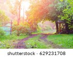 defocused bokeh background of... | Shutterstock . vector #629231708