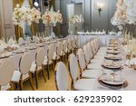 Bouquets Of White Orchids And...