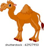 illustration of cute funny camel | Shutterstock .eps vector #62927953
