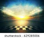 track arena 3d rendering  | Shutterstock . vector #629285006
