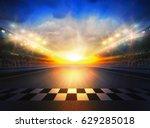 track arena 3d rendering  | Shutterstock . vector #629285018