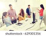 business  communication ...   Shutterstock . vector #629301356