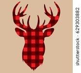 deer head | Shutterstock .eps vector #629303882