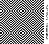 seamless pattern with black... | Shutterstock .eps vector #629312342