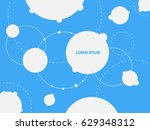 abstract background with... | Shutterstock . vector #629348312