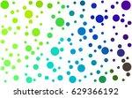 dark multicolor vector pattern... | Shutterstock .eps vector #629366192