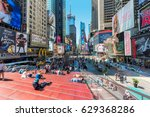 new york city  june 25  times...   Shutterstock . vector #629368286